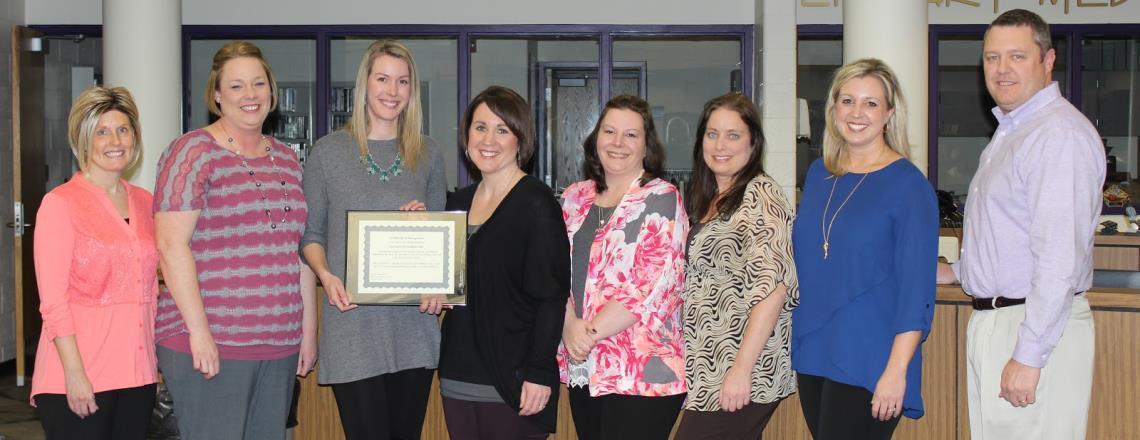 Southview Elementary Receives Exemplary School Award