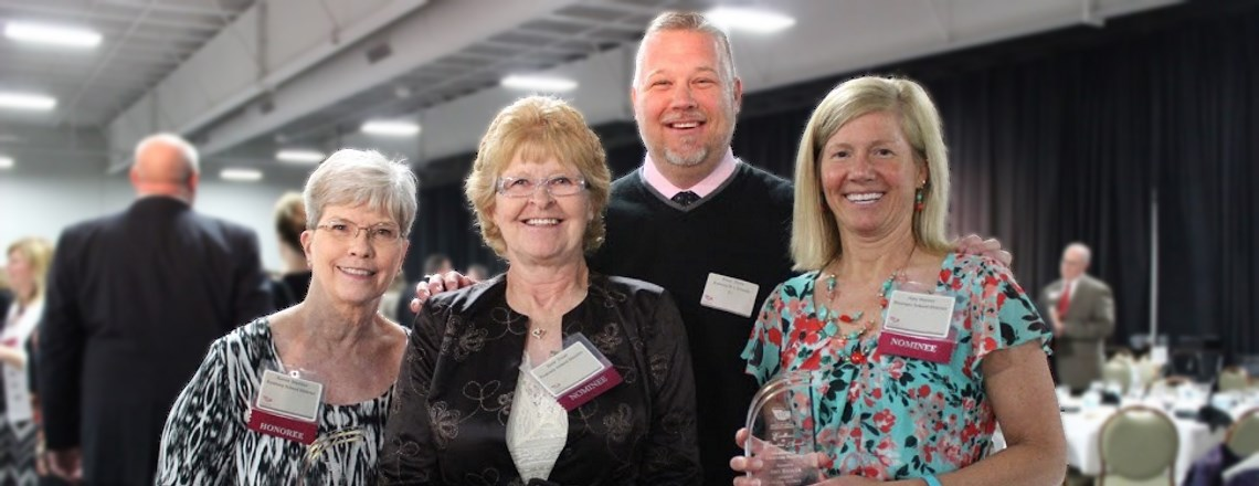 KSD Staff Members Honored at Excellence in Education Awards